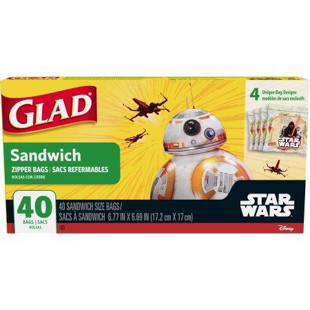glad グラッド 日本入手困難 ディズニー サンドイッチサイズバック 4
